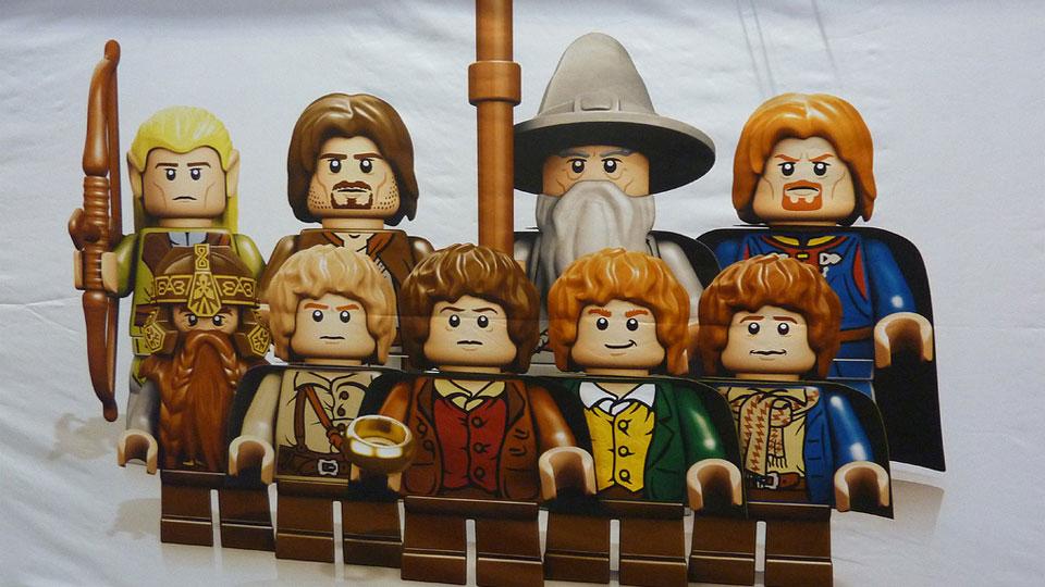 LOTR LEGO minifigures!