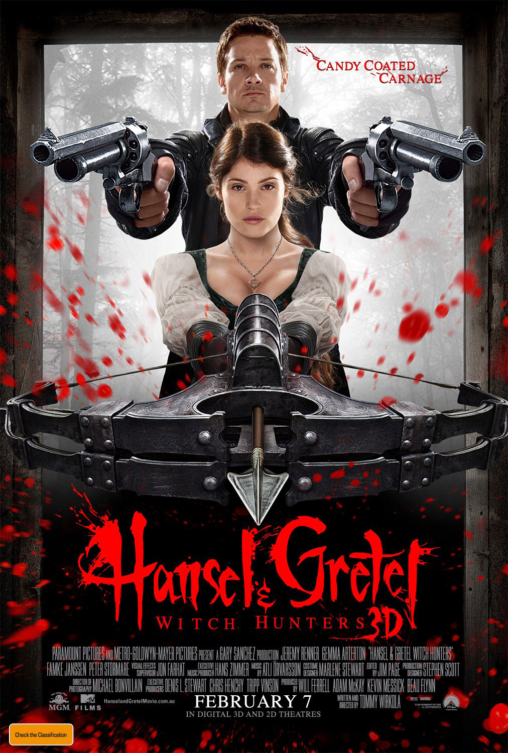 Hunters hansel 2013 gretel witch and