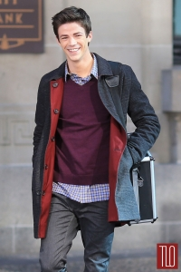 Barry Allen and his suitcase of stuff